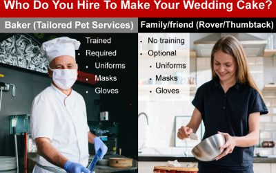 Difference between a professional pet care company and Rover/WAG/Thumbtack