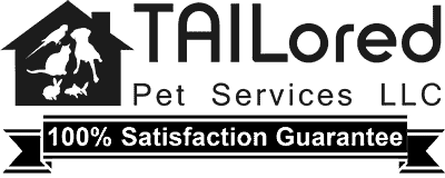 Tailored Pet Services Logo Black