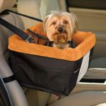 listed on helpful pet items list: Kurgo Rover Booster Dog Car Seat with Seat Belt Tether