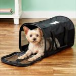 listed on helpful pet items list: Petmate Soft-Sided Dog & Cat Carrier Bag