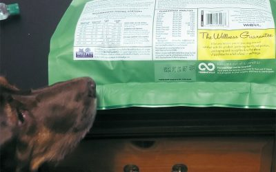 Pet Food Nutritional Label